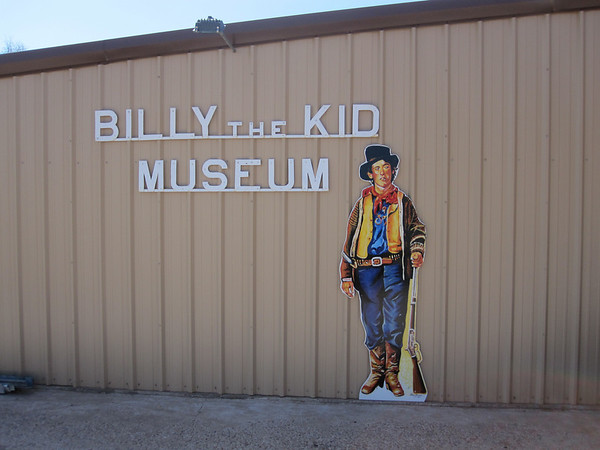 billy the kid grave site. the Billy the kid Museum.